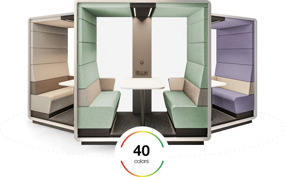5 reasons to outfit your client's space with acoustic work pods