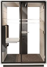 hush - office phone booth, office pod, meeting pods, phone